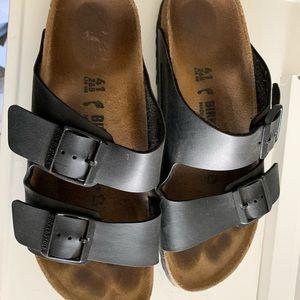 Birkenstock Arizona black sandals 41